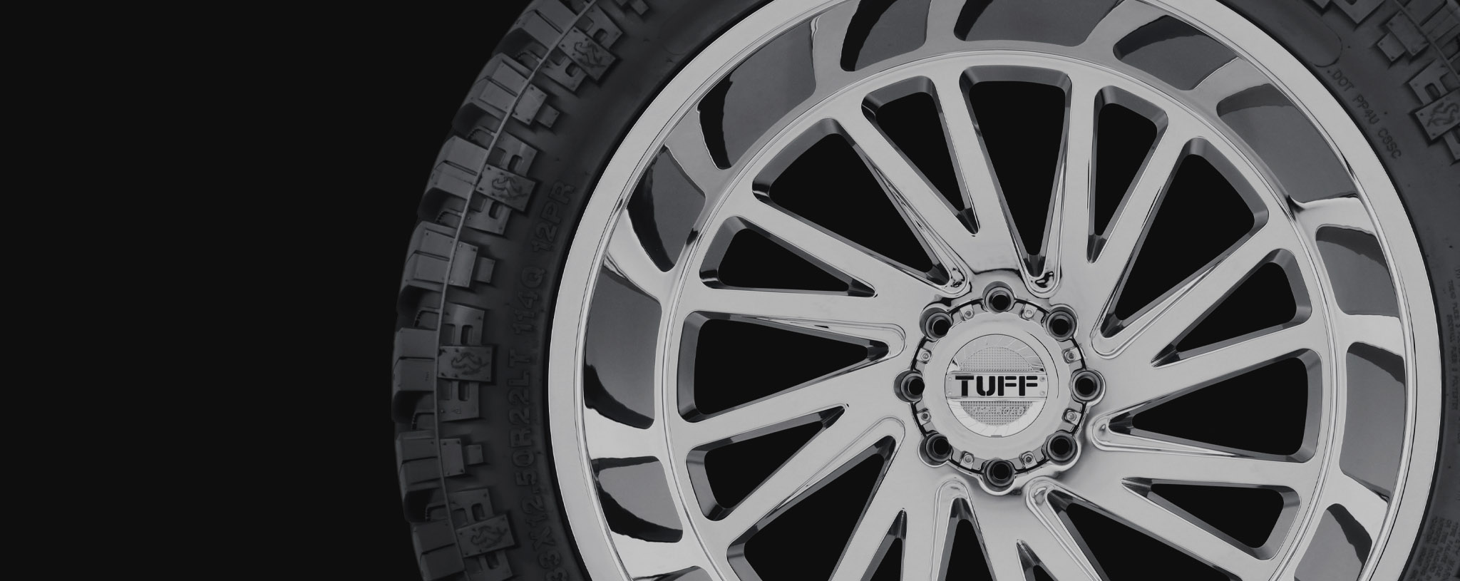 Jeep Wrangler Black Matte >> Off Road Wheels | Truck Wheels and Rims by Tuff Wheels